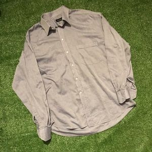 Canali long sleeve button down
